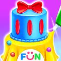 Princess Dress Up Cake - Comfy Cakes Baking Salon icon