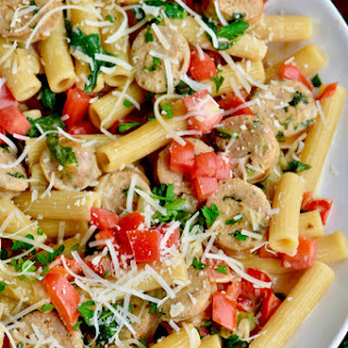 One Pot Sausage and Pasta Skillet Recipe