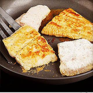 Sauteed Fish Filets.
