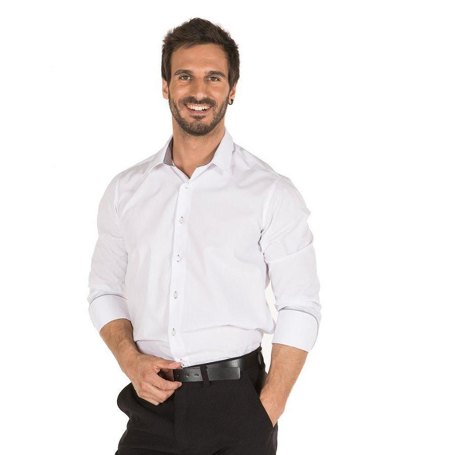 Camisa blanca barista