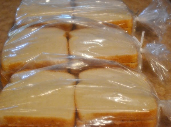 Place sandwiches in plastic bags and refrigerate for at least 2-3 hours or overnight.