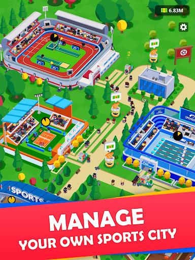 Idle Sports City Tycoon - Create a Sports Empire 0.8.2 screenshots 5