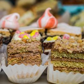Cakes by Marius Radu - Food & Drink Candy & Dessert ( deset, cake, cream, sweet, food, colors )