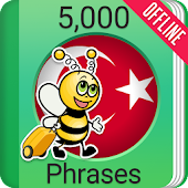 Learn Turkish - 5000 Phrases