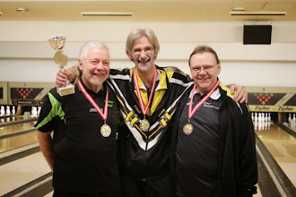 Photo: Einzel Herren: Walter Mayr (2.), Olaf Volkert (1.), Josef Tamesberger (3.)