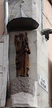 Photo: J30 : le Puy, statue de St Jacques