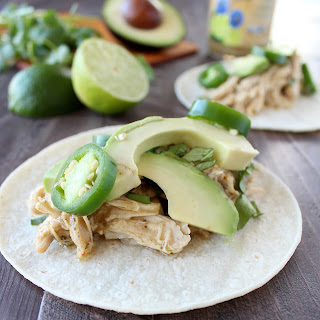 Slow Cooker Chipotle Lime Cumin Chicken Tacos