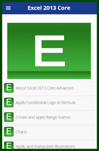 Learn Advance Excel 2013