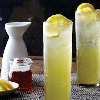 Citrus Sake Iced Matcha
