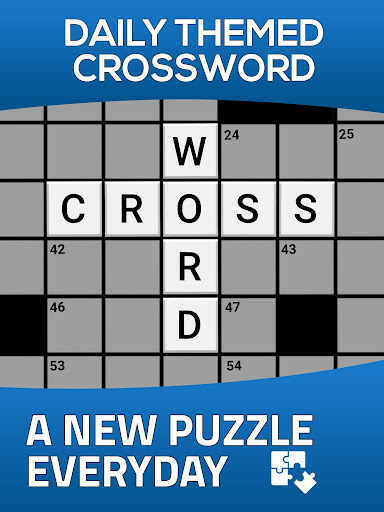 Daily Themed Crossword - A Fun crossword game - screenshot