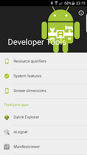 Developer Tools: miniatura de captura de pantalla