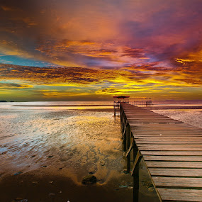 Colourful Moment at Sipitang by Lawrence Chung - Landscapes Sunsets & Sunrises ( garyfonglandscapes, holiday photo contest, photocontest,  )