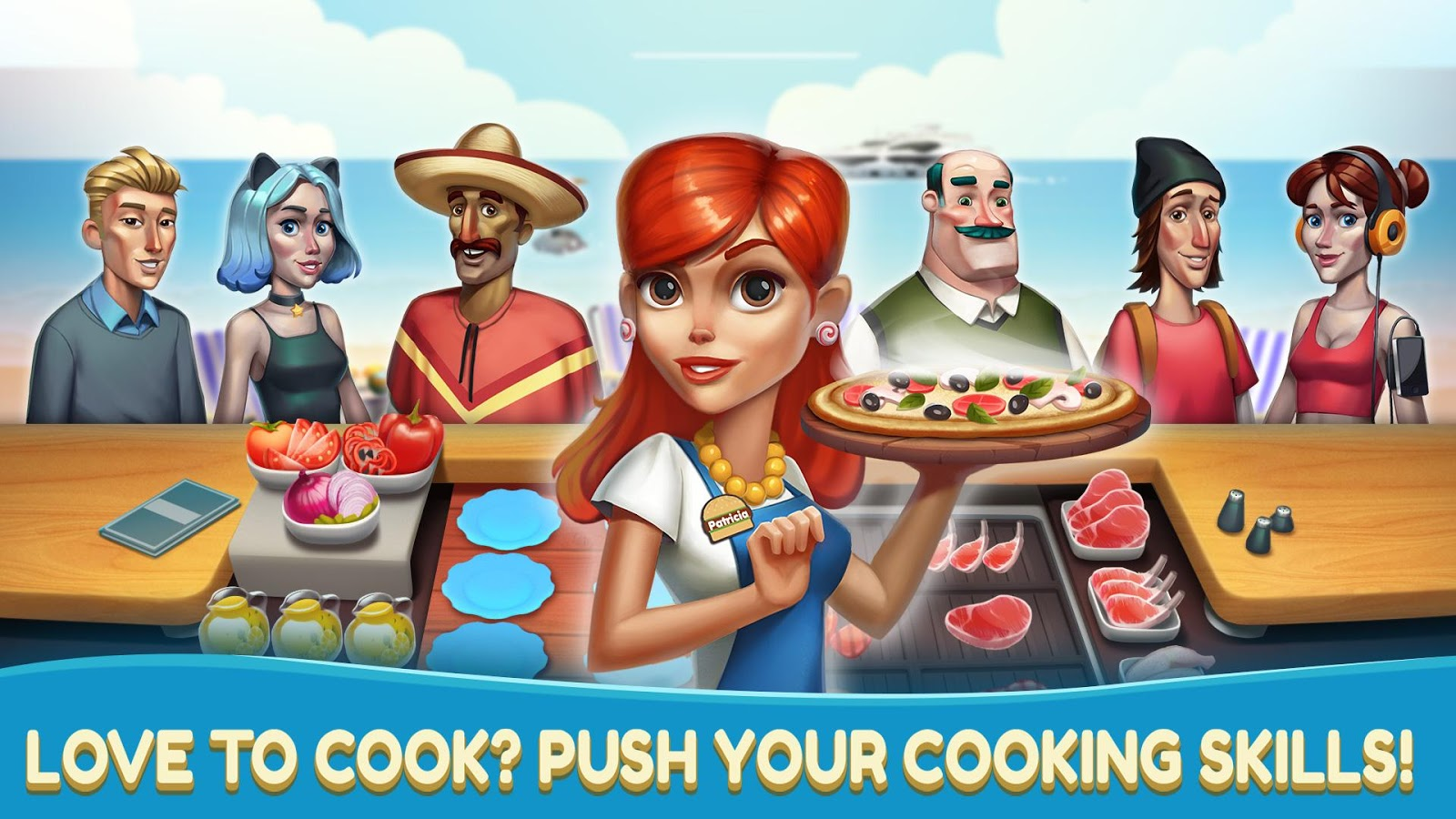 Game to cook - Cooking Games Cafe Chef Food Fever Restaurant Screenshot