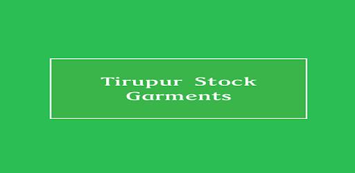 Tirupur Stock Garments - Google Play'də Tətbiqlər