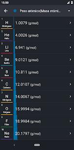 Tabla Periódica 2019 PRO: Química 6