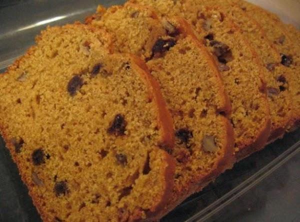 Mrs. Viehweg's Pumpkin Bread Recipe