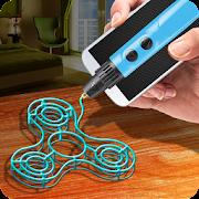 Game Make Fidget Real Spinner 3D Pen Simulator APK for Windows Phone