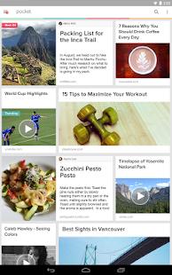 Pocket- screenshot thumbnail