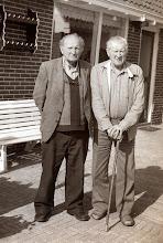 Photo: Albert Mennega en Hendrik Bruining