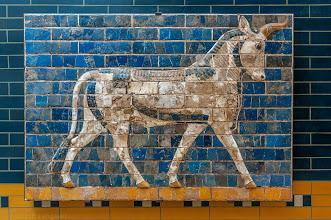 Photo: Die Mauern von Babylon (Prozessionsstraße)