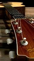 Screenshot of Acoustic Guitar Live Wallpaper