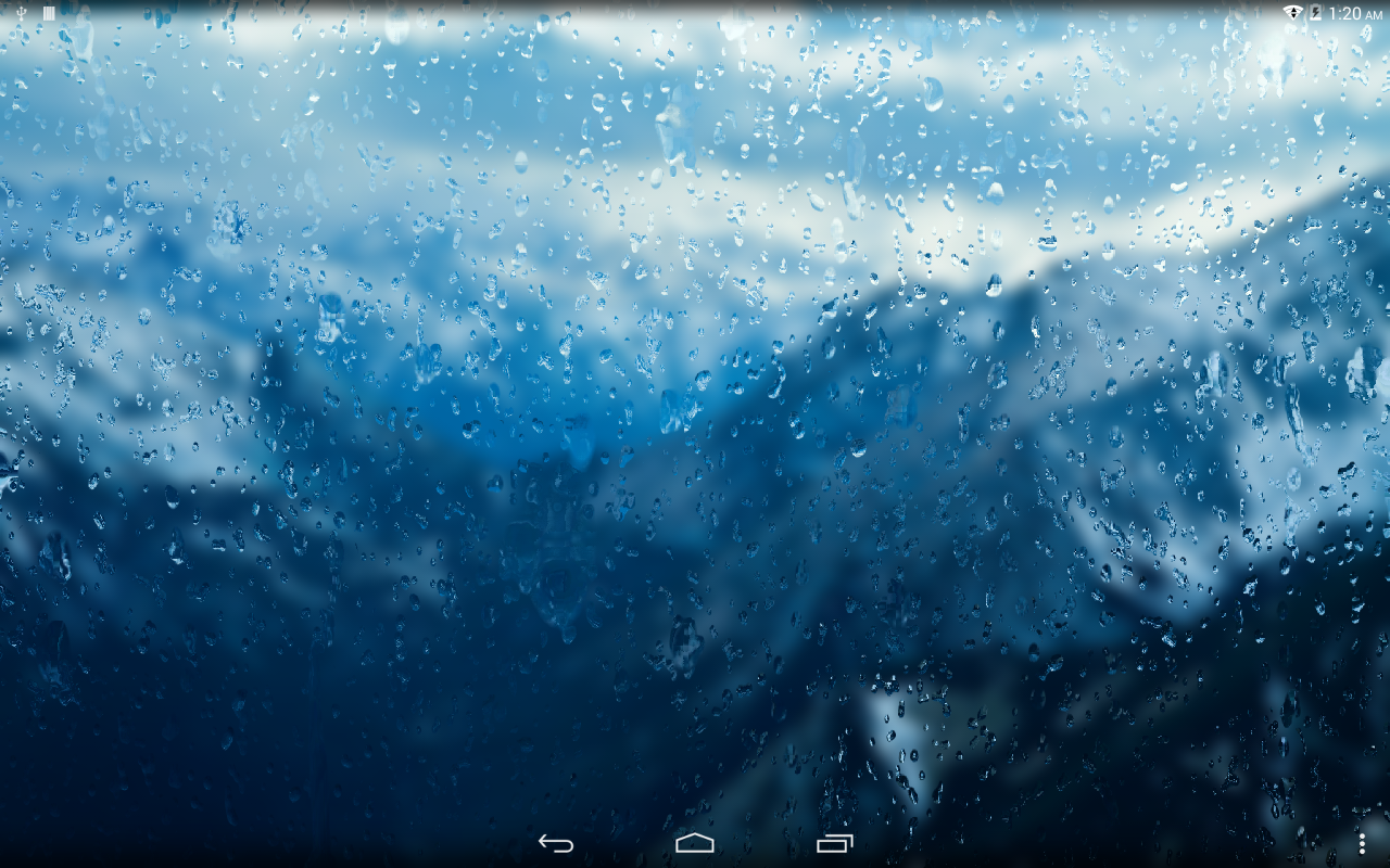 Rainpaper- screenshot