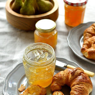 Pear And Ginger Jam.