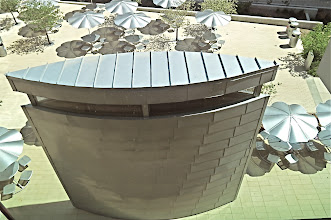 Photo: Air Cooling Tower for the IT folks at NREL