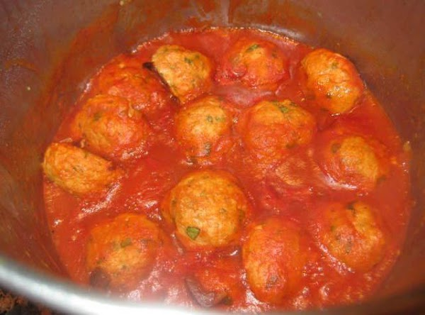 To make the sauce: While meatballs are cooking, make the sauce. In large saucepan...