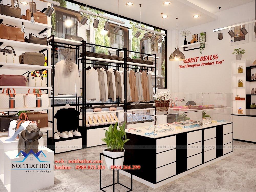Thiết kế cửa hàng bán đồ tạp hóa hiện đại