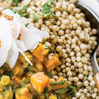 Sweet Potato, Chickpea and Spinach Coconut Curry Recipe