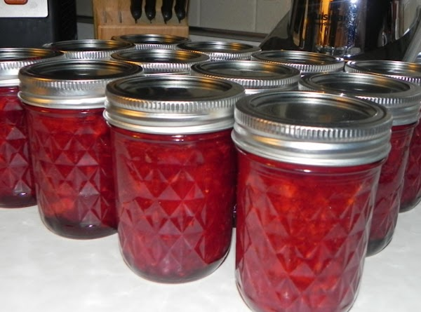 Place tops on the jars and leave at room temp. for 24 hours. Wipe...