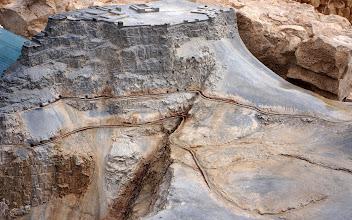 Photo: Herod's Masada Palace Model and Cistern System