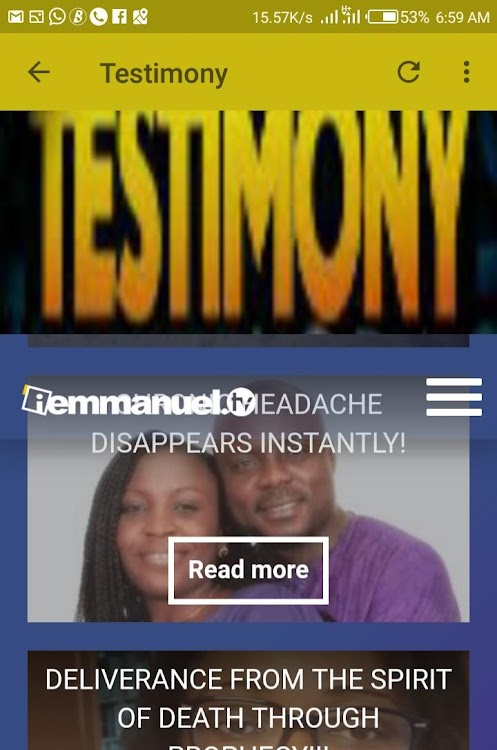Emmanuel TV Live – (Android Apps) — AppAgg