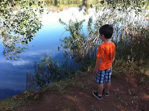 Photo: Clark at Barbara's Lake