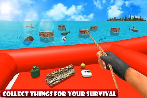 Raft Ocean Craft Survival: Shark Attack 1.0 screenshots 4
