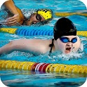 Swimming Pool Flip Diving icon