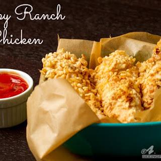 Crispy Ranch Chicken Strips.