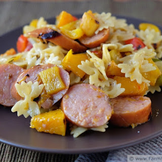 Grilled Butternut Squash & Peppers