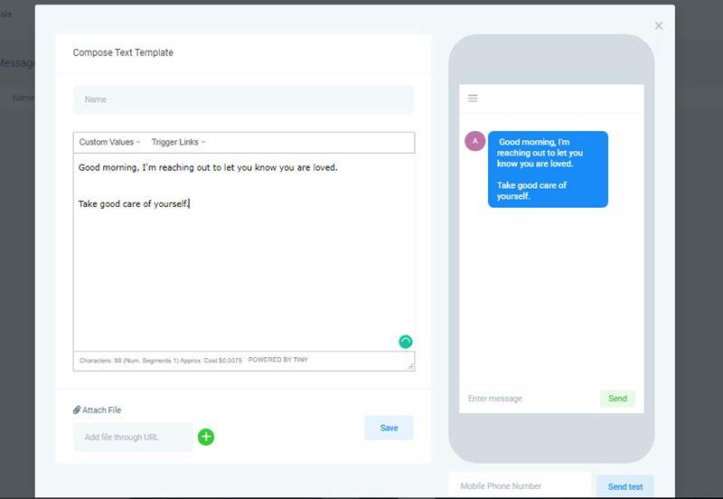 Gohighlevel SMS marketing