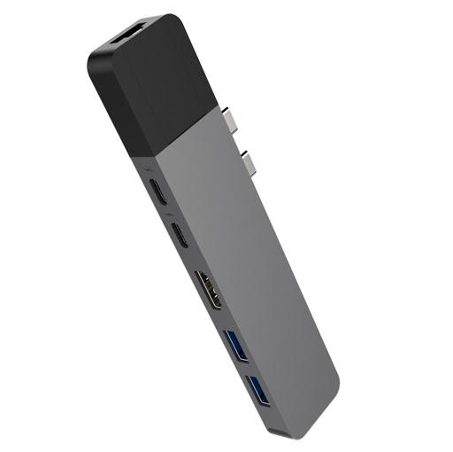 Bộ chia/ Hub USB-C Hyperdrive NET 6 in 2 GN28N-GR-1