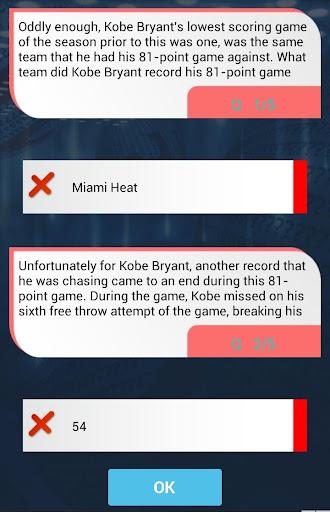 玩免費益智APP|下載Kobe Bryant Quiz app不用錢|硬是要APP
