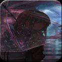 Sad Girl Wallpaper - Black Aesthetic Wallpapers HD icon
