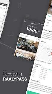 Raaly - Coworking on Demand- screenshot thumbnail