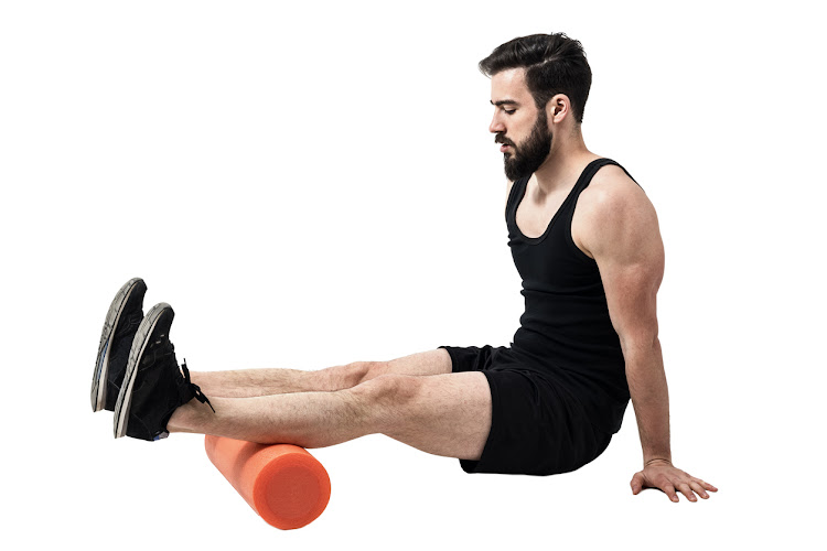 Using a foam roller to massage your muscles can be beneficial both before and after exercise.