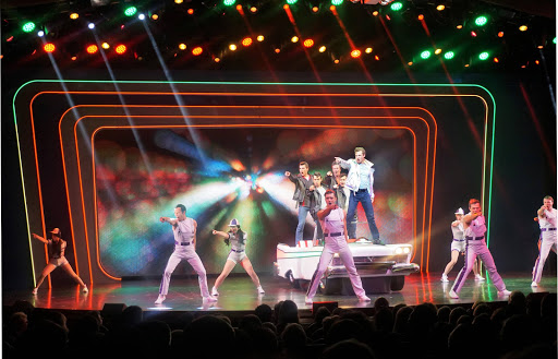 "harmony-of-seas-grease-1.jpg - The revival of the Broadway hit ""Grease"" has won critical acclaim on Harmony of the Seas."