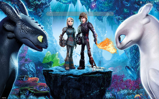 How to Train Your Dragon Wallpapers New Tab
