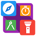 Smart Tools : Compass, Calculator, Ruler, Bar Code icon