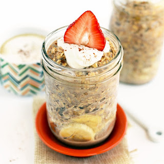 Maple French Toast Overnight Oatmeal.