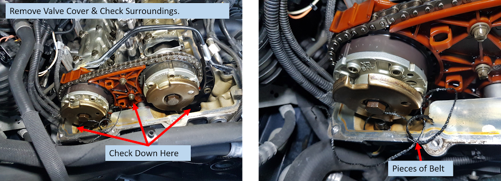 DIY: Shredded / Broken Serpentine Belt Repair/Inspect